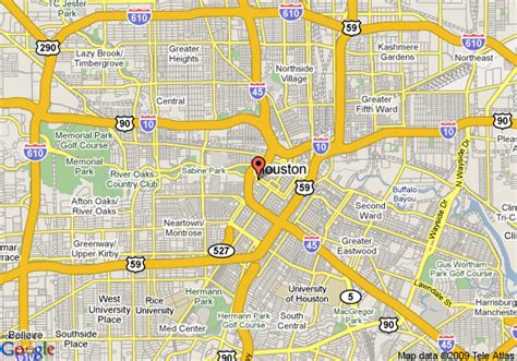 texas downtown map map of downtown houston tx indiana map