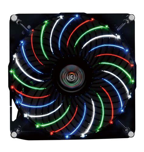 Enermax Tb Vegas 18cm Circular 4 Color Led Uctvq18a enermax 17インチワイド対応ノートpcクーラー aeolus vegas cp007