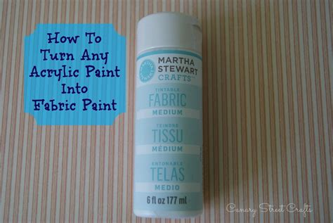 acrylic paint on canvas fabric how to turn any acrylic paint into fabric paint