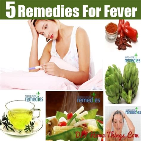 top easy home remedies for fever diy home things