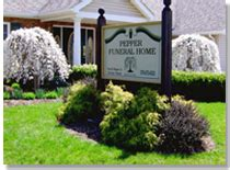 pepper funeral homes cremation facility inc canton