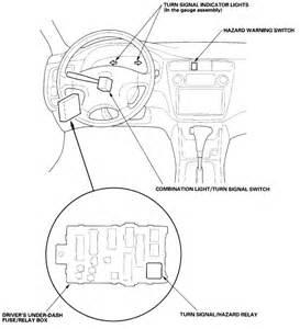 2000 honda accord turn signal relay location wiring