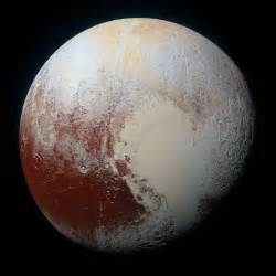 the rich color variations of pluto nasa
