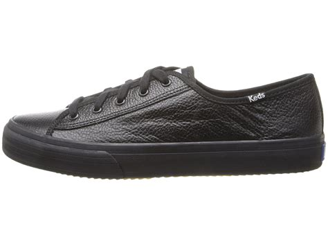 Keds Black White 1 keds up leather in black lyst