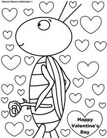 be my valentines day coloring pages free printable