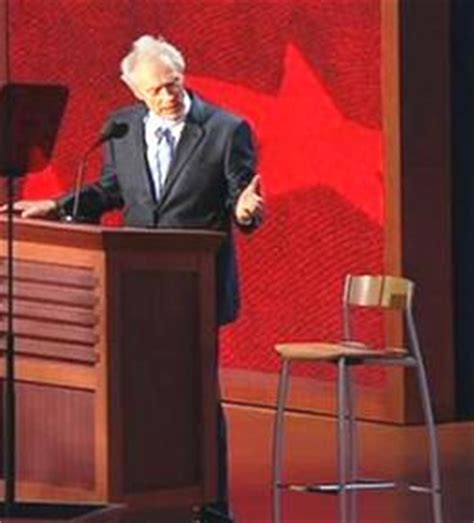 Clint Eastwood Empty Chair by Barack Obama And His I Don T Care Presidency