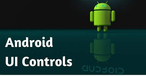 android tutorial in w3schools android ui controls learn android ui programming w3schools