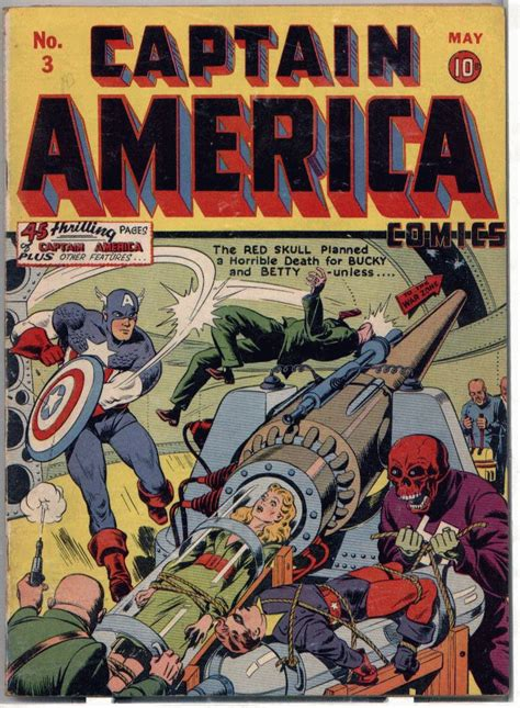 Captain America Comic Book comic book gatherer captain america comics 3