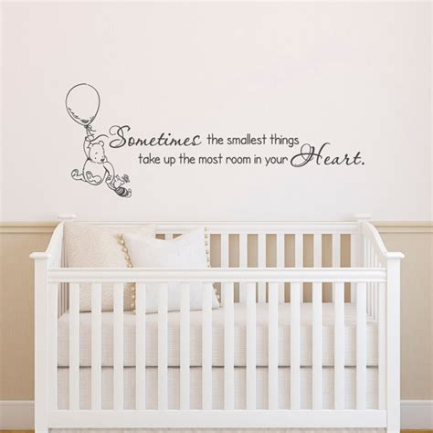 winnie the pooh quotes wall stickers classic winnie the pooh wall decals quotes sometimes the