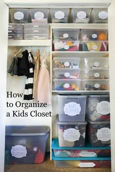 How To Spot A Closet 1000 images about organized closets on kid