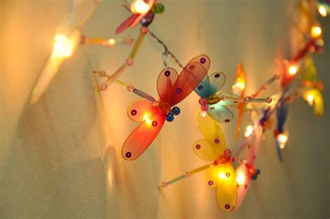 Colourful Dragonfly String Lights For Party And Decoration 20 Dragonfly String Lights