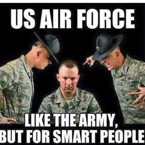 Funny Army Memes - air force vs army military meme war pinterest air force military humor and marine corps