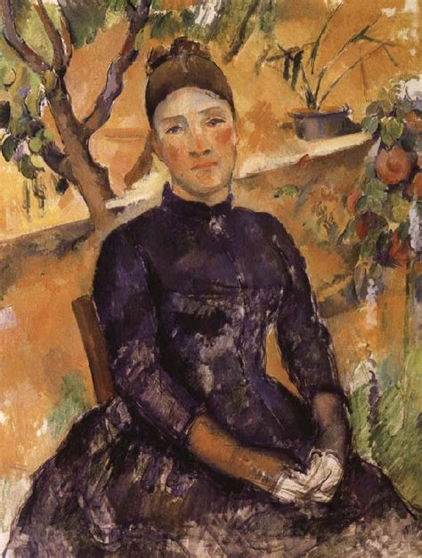 cezanne masters of art mrs cezanne paul cezanne open picture usa oil painting reproductions
