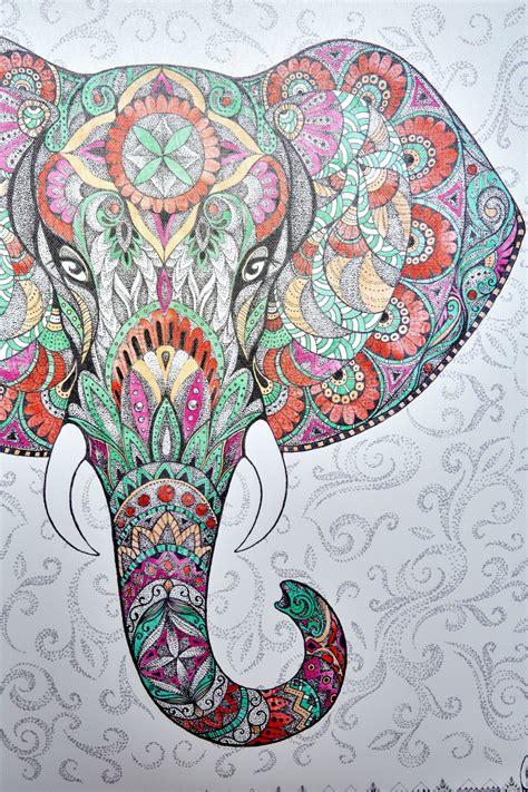 Tech Wall Art by Elephant Mandala Canvas Art Earthbound Trading Co