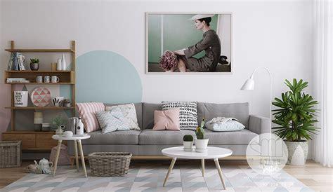 Sofa Warna Pink three inspirational scandinavian interiors achieving pastel perfection