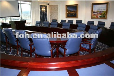 Big Meeting Table Classic Wood Boat Shape 20 To 30 Person Big Meeting Table Fohsc 8015 Buy Big Meeting Table