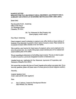 Appeal Letter Waive Penalty Waive Tax Penalty Letter Docoments Ojazlink