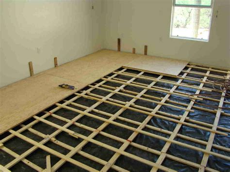 build a floor sprung floor houses flooring picture ideas blogule