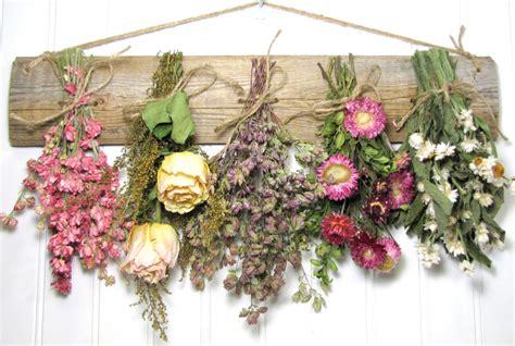 dried flower rack dried floral arrangement wall decor dried