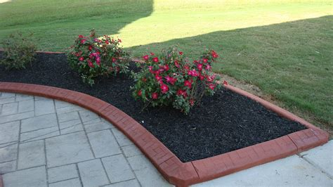 Landscape Edging Concrete Landscaping Concrete Edging Beautify Your Garden With