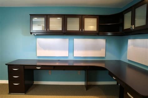 Desk Systems Home Office Contemporary Desk System Contemporary Home Office Boston By Custommade