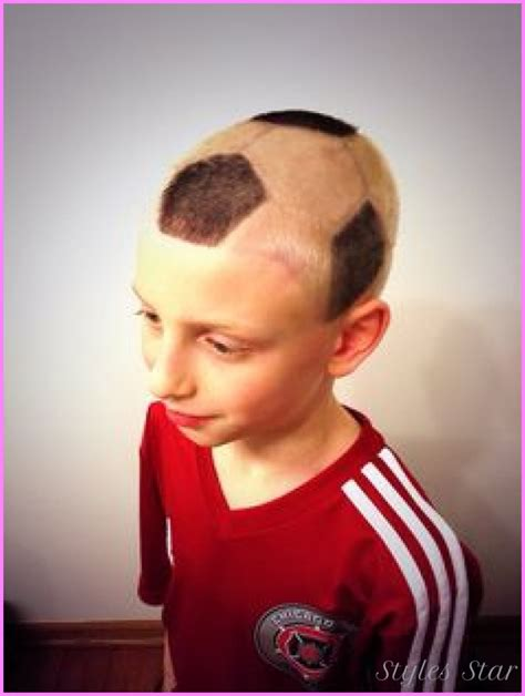 cool soccer hairstyles for boys cool soccer haircuts for kids stylesstar com
