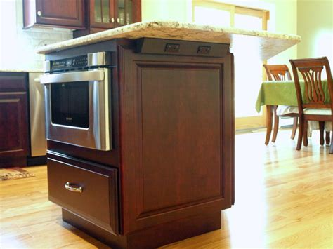 kitchen island with microwave drawer drawer microwave in island traditional kitchen newark by kraftmaster renovations