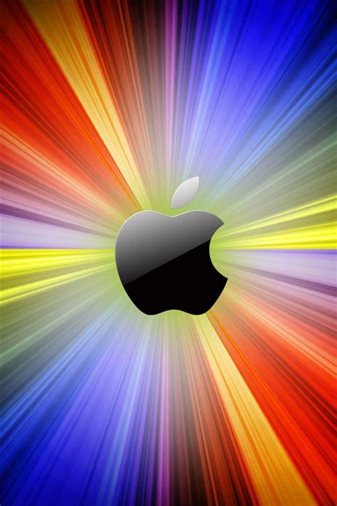manzana luces de colores de fondo iphone xgs fondos descarga esiwallcom
