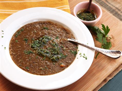 easy garlic soup recipe easy lentil soup with lemon zest garlic and parsley recipe serious eats