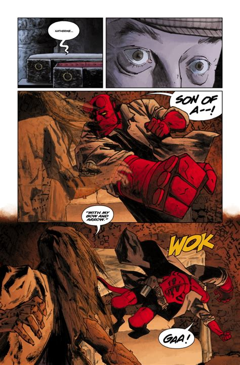hellboy library edition volume 6 the and the fury and the of hell preview hellboy library edition vol 6