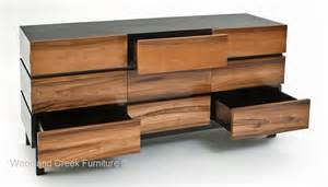 modern wooden dresser woodland creek furniture