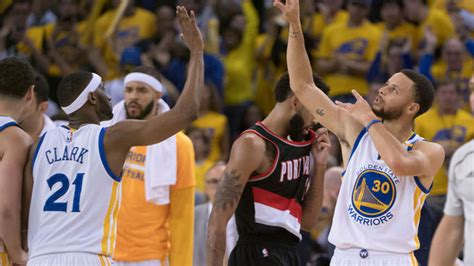 warriors trail blazers 5 hot takes following portland trail blazers early playoff