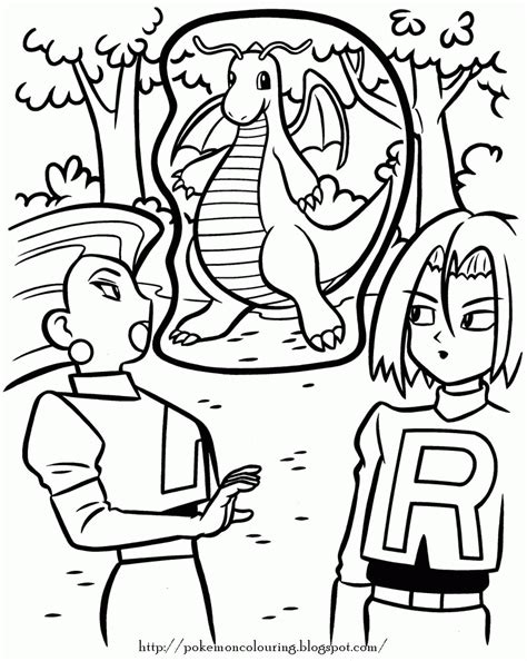 pokemon team rocket coloring pages coloring home