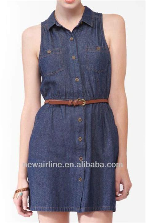 Ab Baju Casual Wanita Jumpsuit Babol vestidos en tela chambray largos buscar con vestidos search chambray