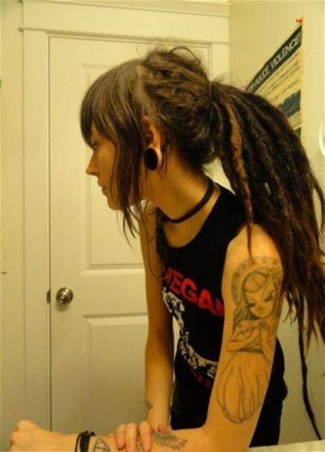 tattoo miss van dreadlocks stretched ears and miss van tattoo d r e a d