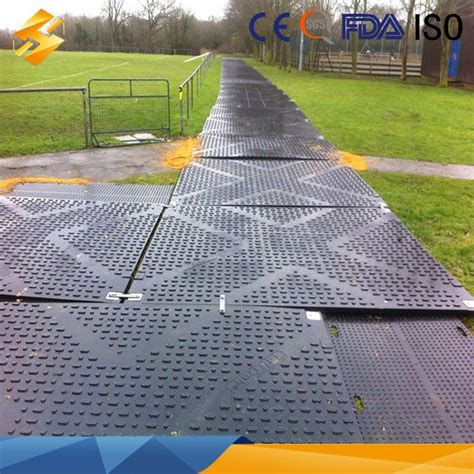 Road Mat by Hdpe Ground Protection System Mats Hdpe Access Lawn