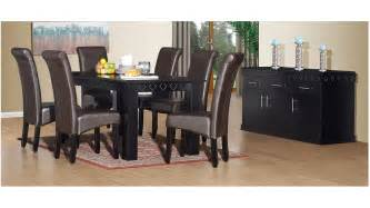 Dining Room For Sale Durban Marseilles 8pce Dining Room Black Wood Dining Room For