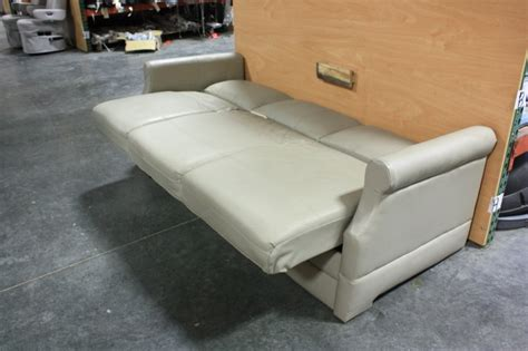 rv sleeper sofa rv furniture used rv flexsteel vinyl knife