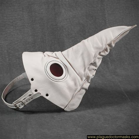 How To Make A Plague Doctor Mask With Paper Mache - white plague mask plague doctor masks