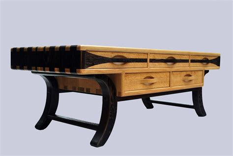 wenge coffee tables custom white oak and wenge coffee table by jon s manss woodworks custommade
