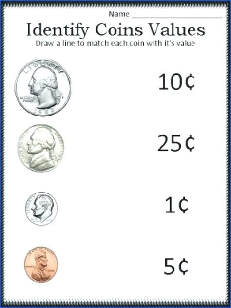 full size of money worksheets kindergarten learning