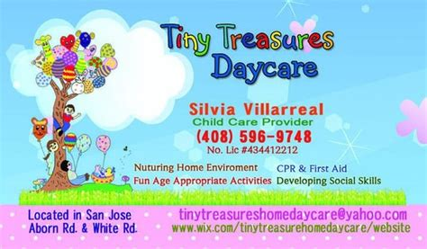 Tiny Treasures Home Daycare Brton Tiny Treasures Home Daycare Child Care Day Care