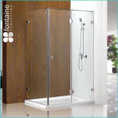 Shower Doors And Screens 449 00 Fontaine 10mm Toughend Glass Oxley Frameless Shower Screen This Base Suits The