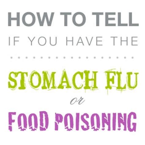 how does it take to get sick from food poisoning