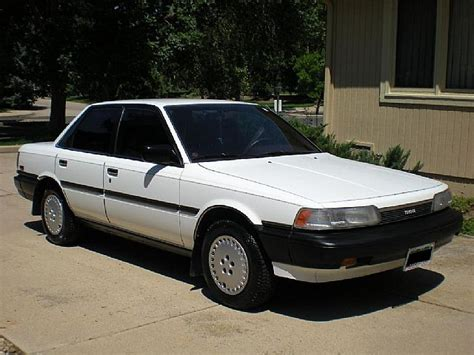 87 Toyota Camry 1987 Toyota Camry White Images