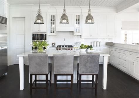 White And Gray Kitchen by Grey And White Kitchens
