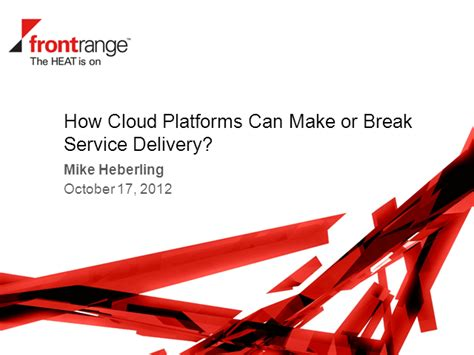 how can i make my a service how cloud platforms can make or your service delivery