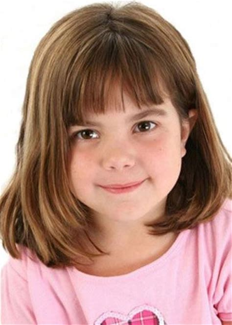 haircut for 8year old girls w bangs 17 best images about girls hair on pinterest bobs