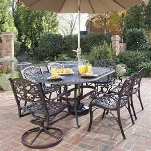 iron banded southwest dining set piece