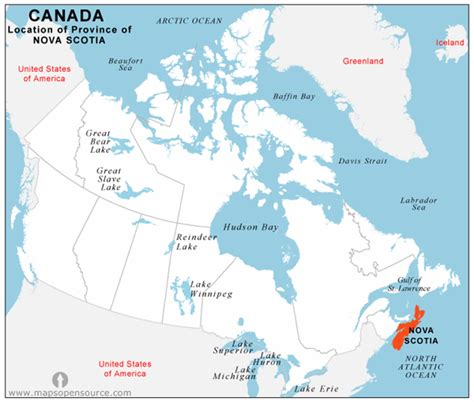 where is scotia in canada on the map free scotia location map location map of